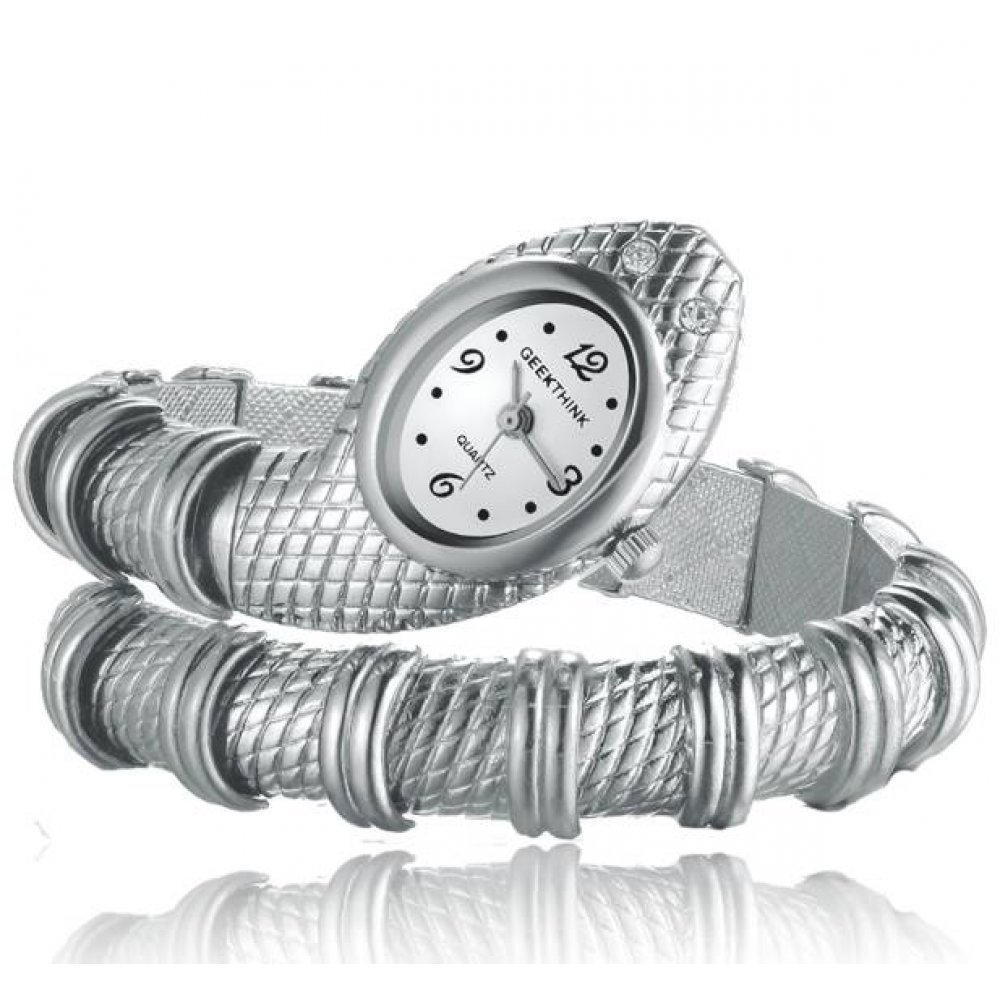 Женские Часы наручные Geekthink в виде змеи 3168
