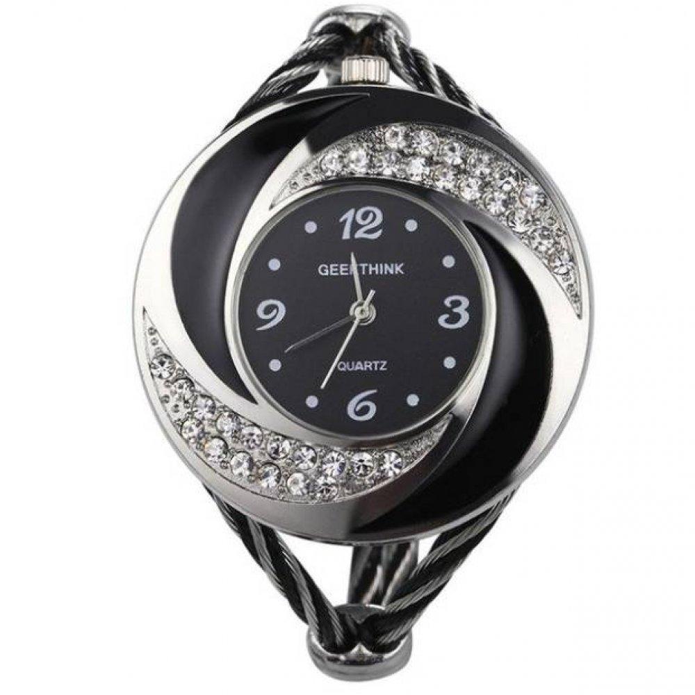 Женские Часы наручные Geekthink черные 3171