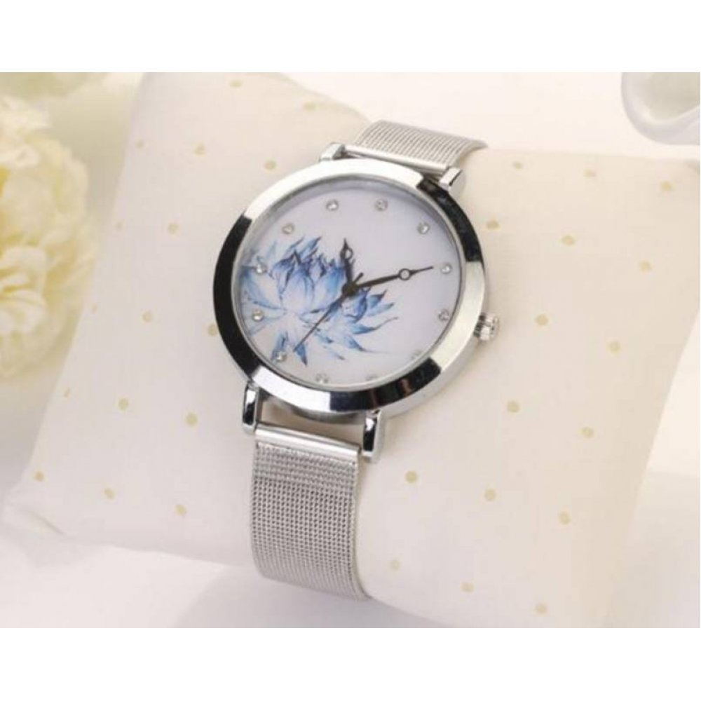 Женские Часы наручные WoMaGe, белые 3176