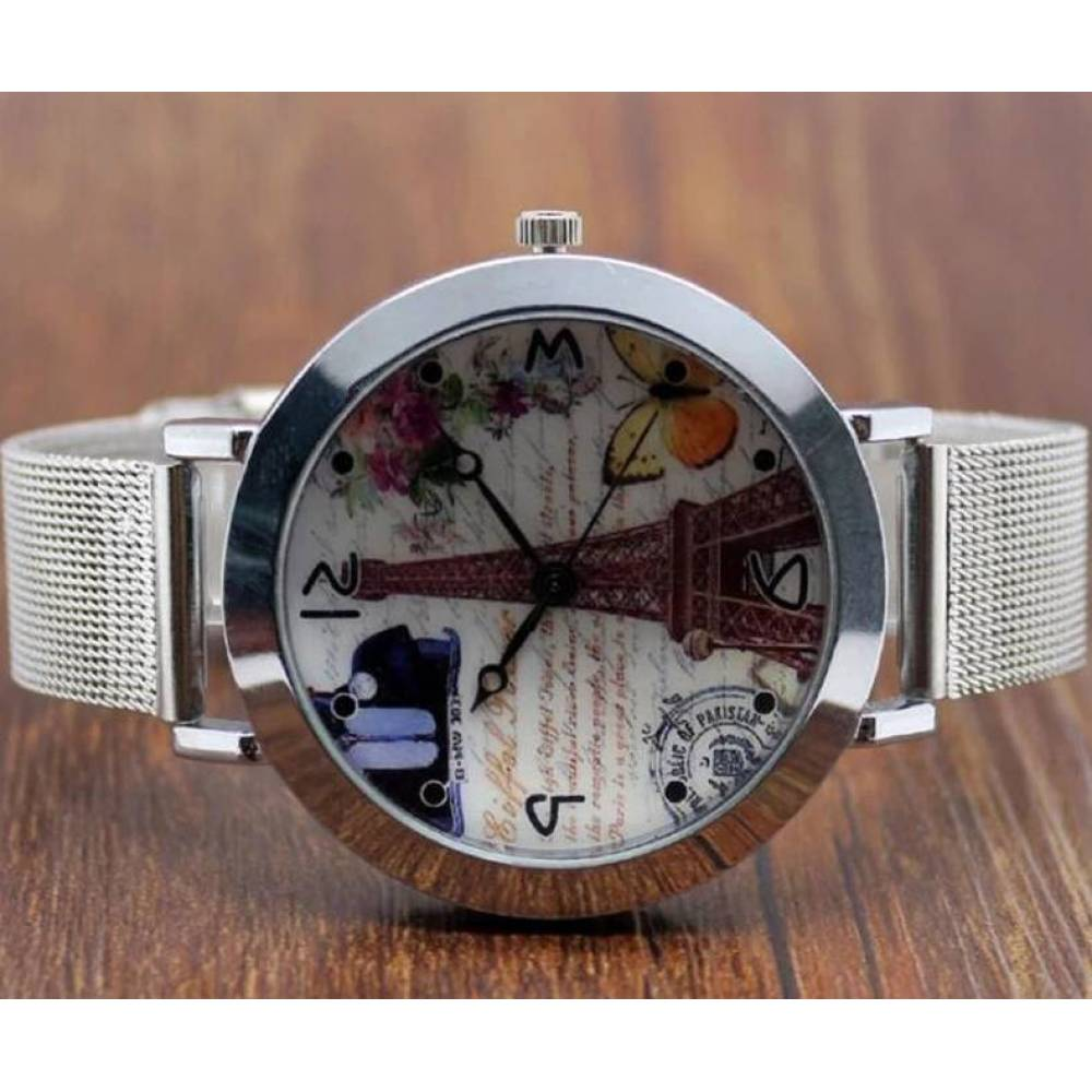 Женские Часы наручные WoMaGe, эйфелева башня 3177