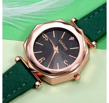 Женские Часы наручные Gogoey зеленые 3183