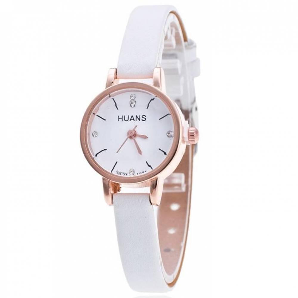 Женские Часы наручные Huans белые 3185