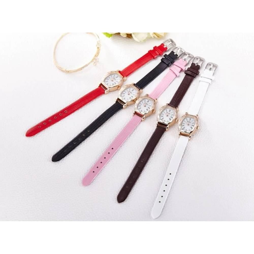 Женские Часы наручные  Jw красные 3195