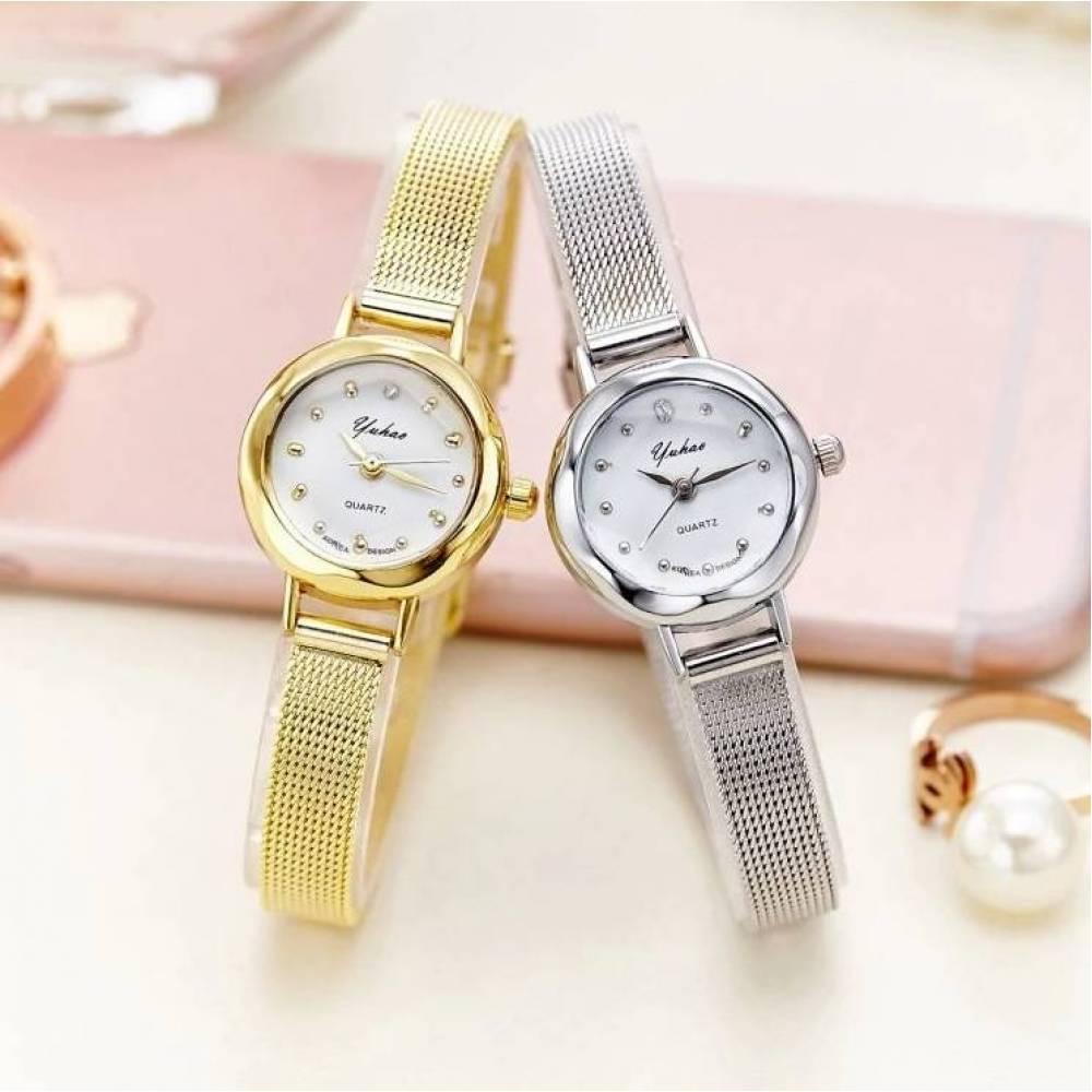 Женские Часы наручные Jw, серебристые  3202