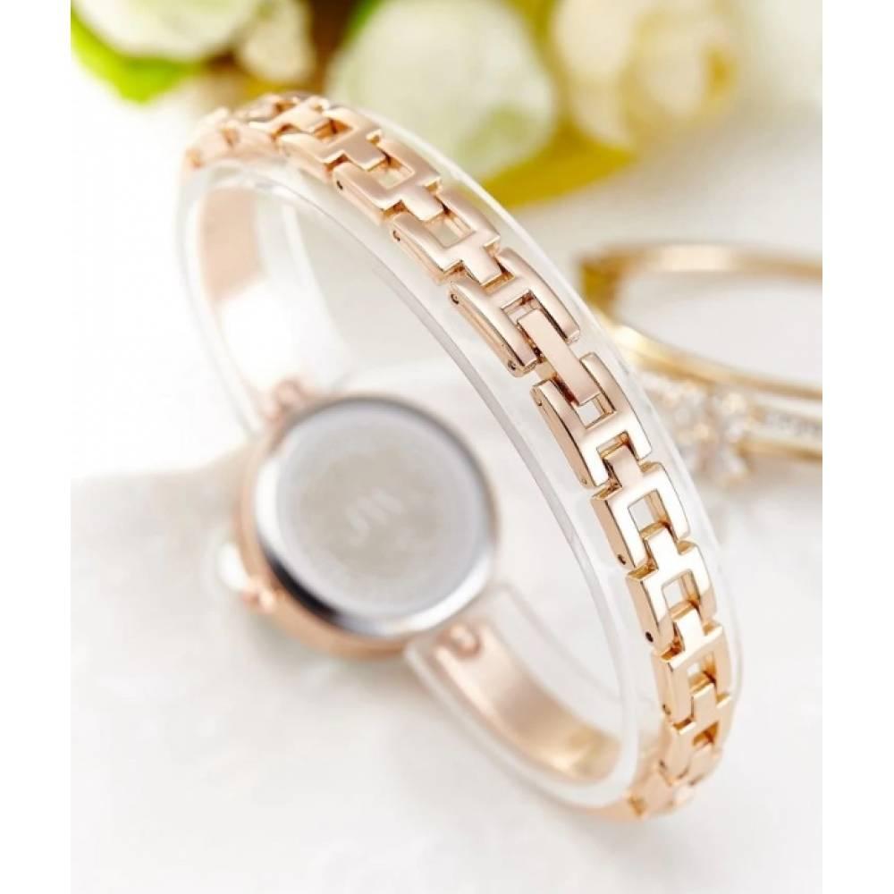 Женские Часы наручные Jw, золотистые 3205