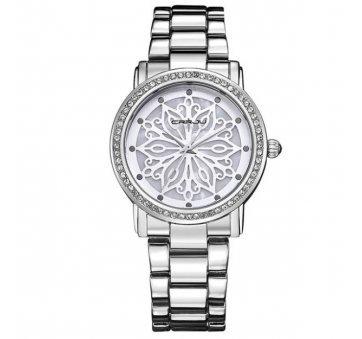 Женские Часы наручные Crrju, белые 3209