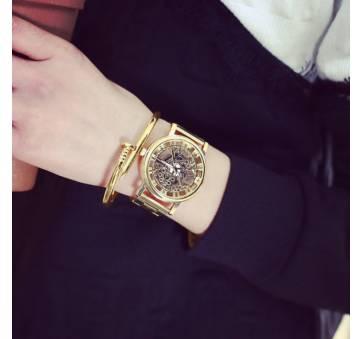 Женские Часы наручные Jw, золотистые 3210