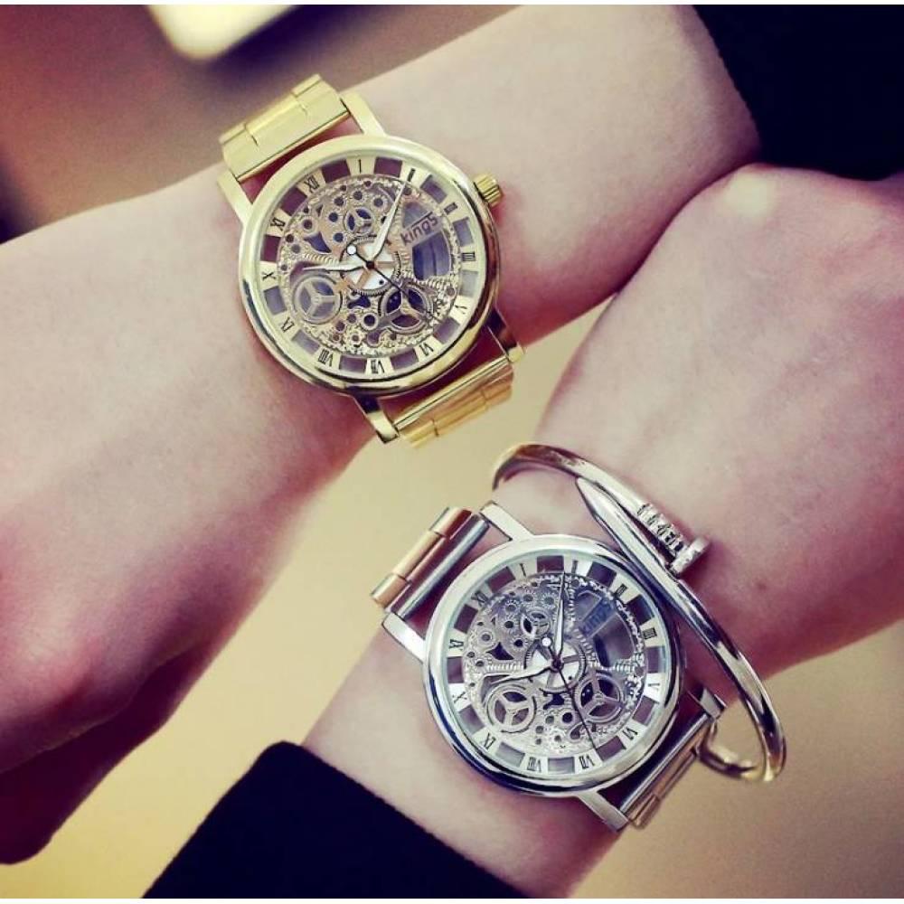 Женские Часы наручные Jw, серебристые  3211