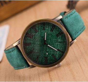 Женские Часы наручные Jw зеленые 3213