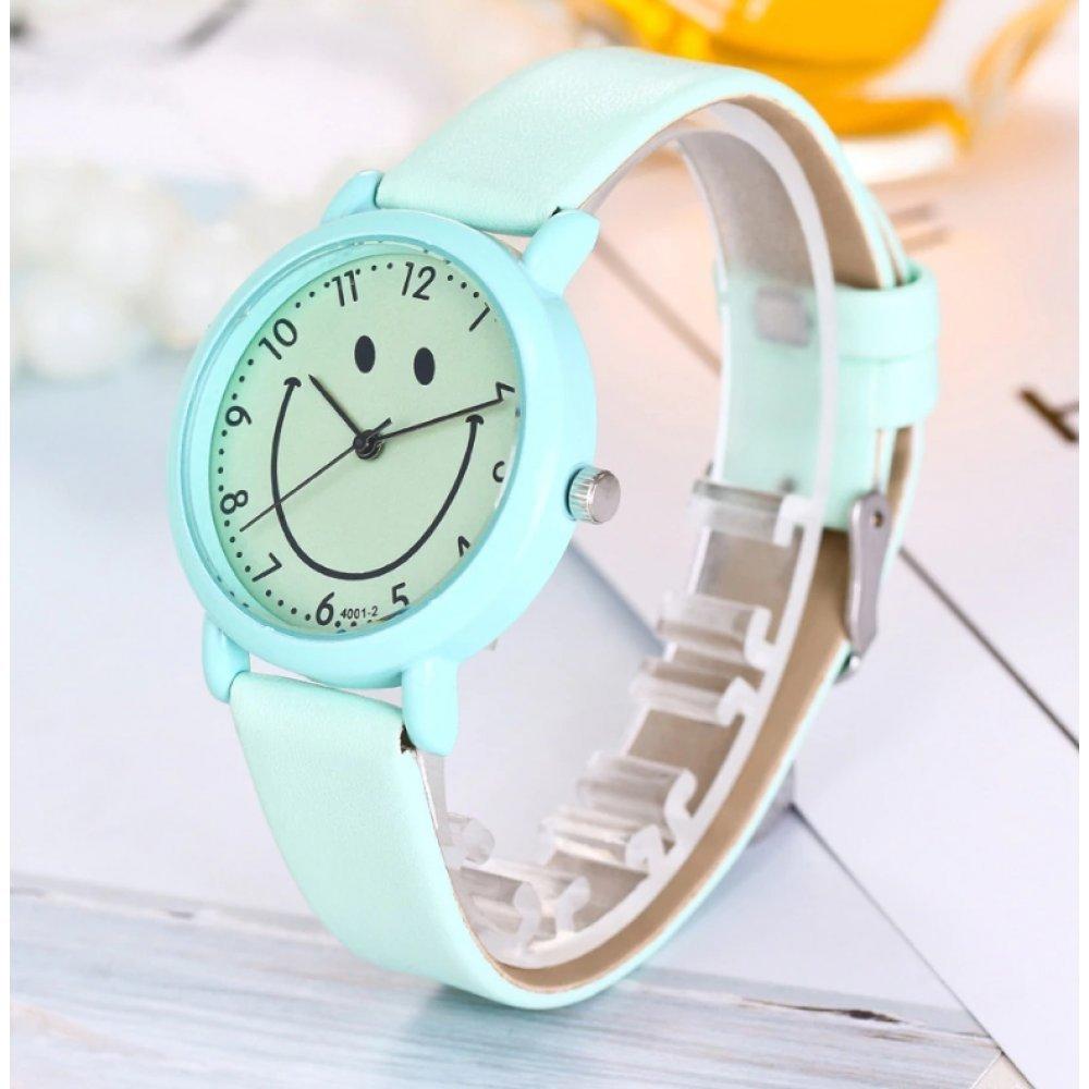 Женские Часы наручные Cartoon голубые 3218