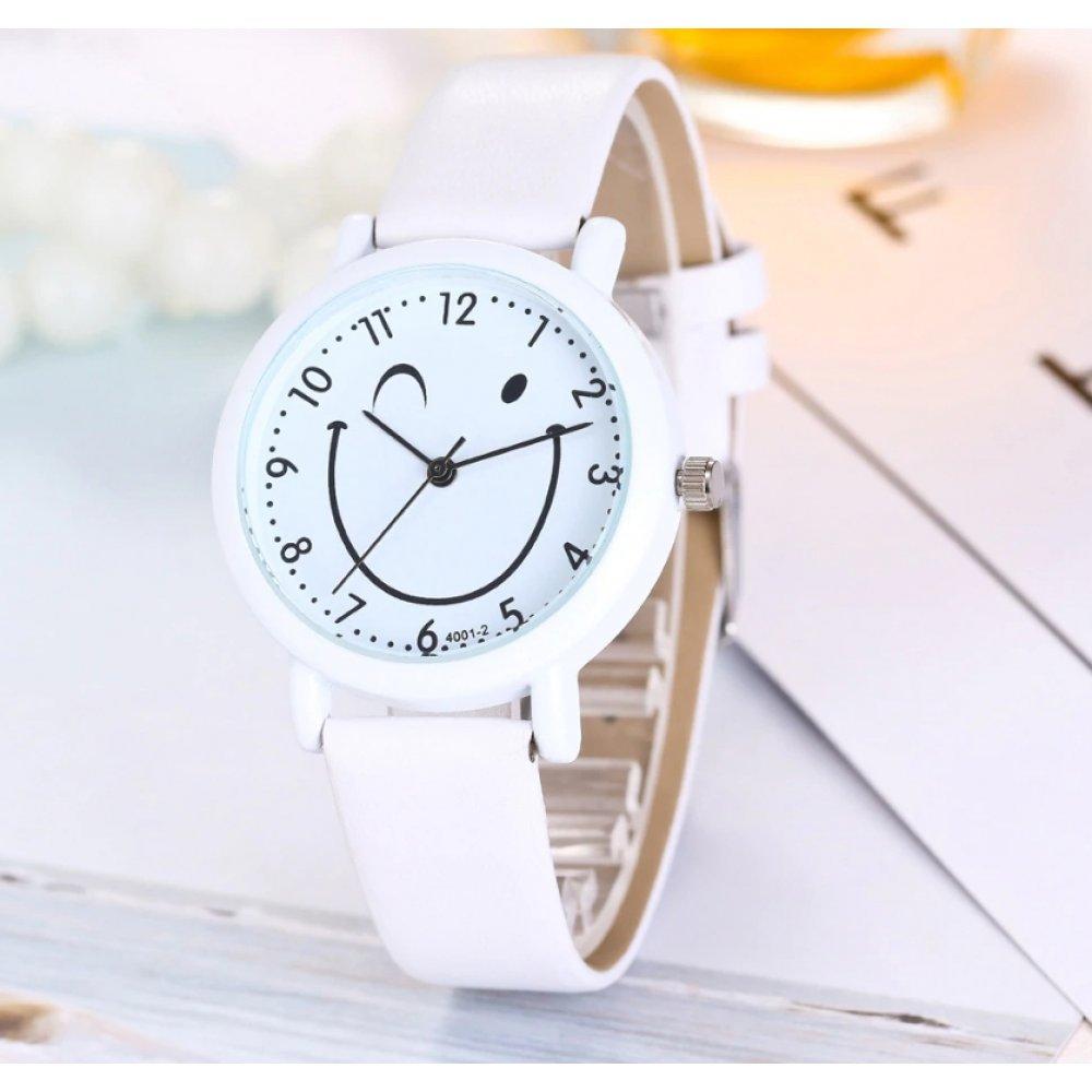 Женские Часы наручные Cartoon, белые 3220