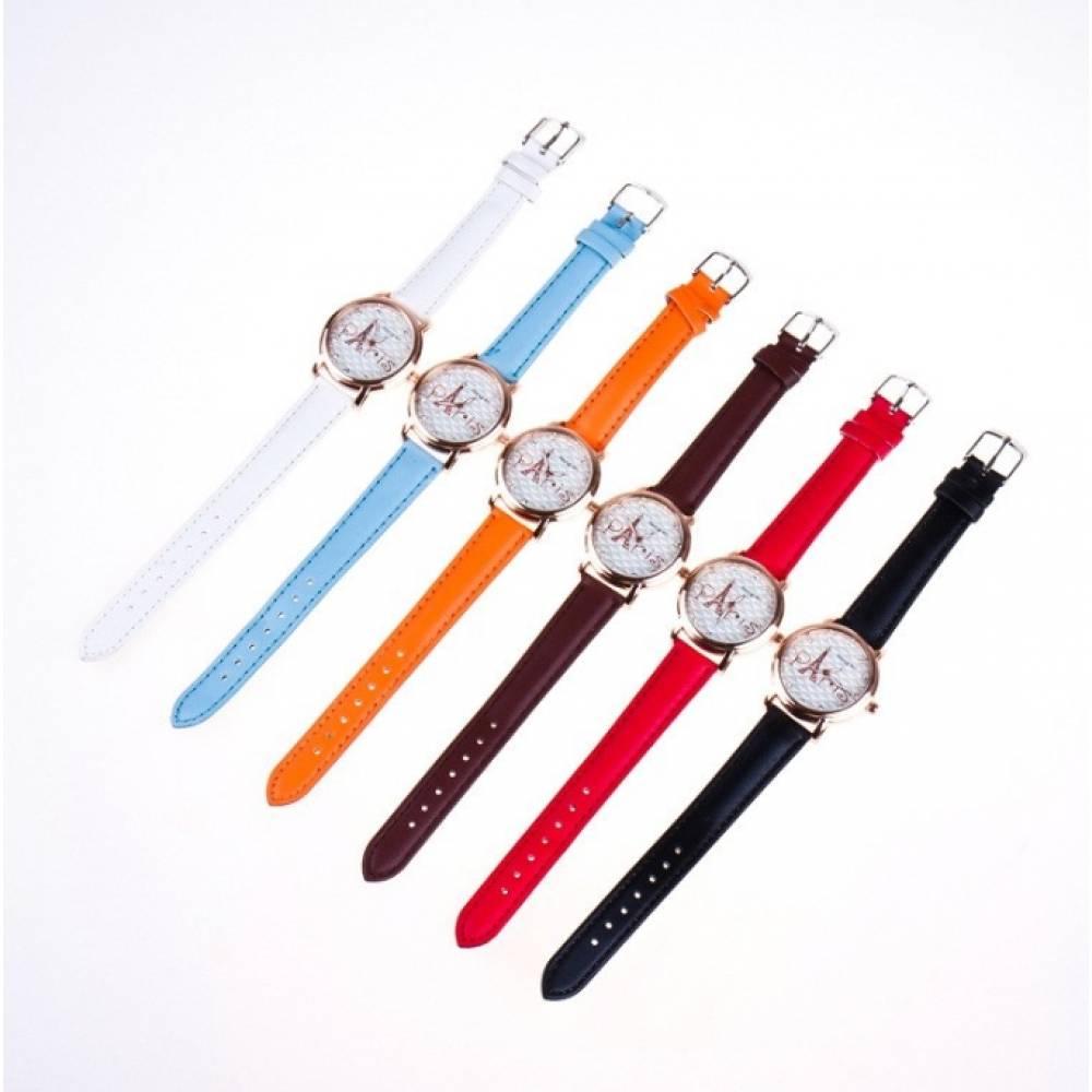 Женские Часы наручные Hong, черные 3221