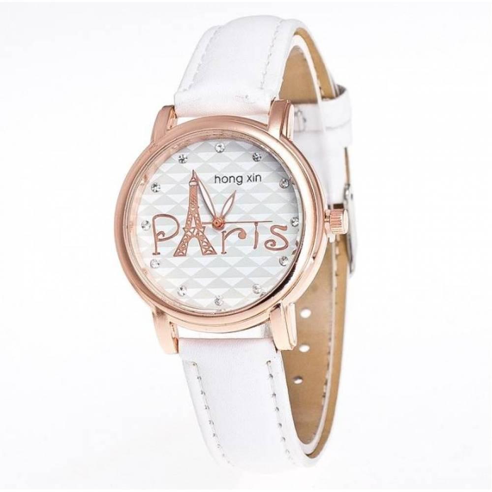 Женские Часы наручные Hong, белые 3222