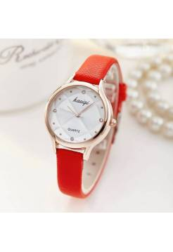 Женские часы Jw, красные