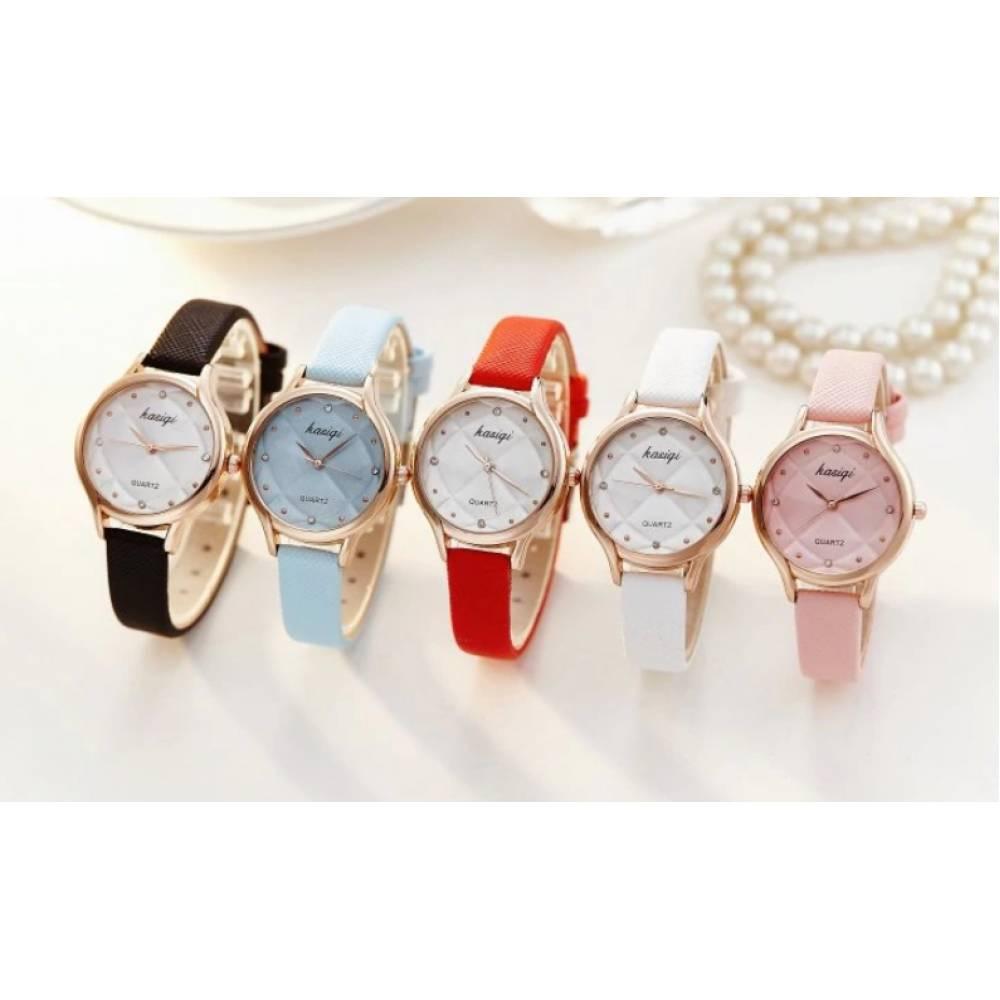Женские Часы наручные Jw, красные 3223