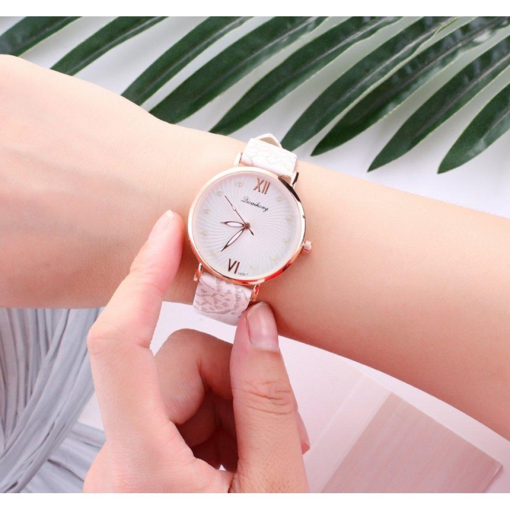 Женские Часы наручные Jw, белые 3228