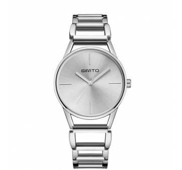 Женские Часы наручные Gimto, серебристые  3233