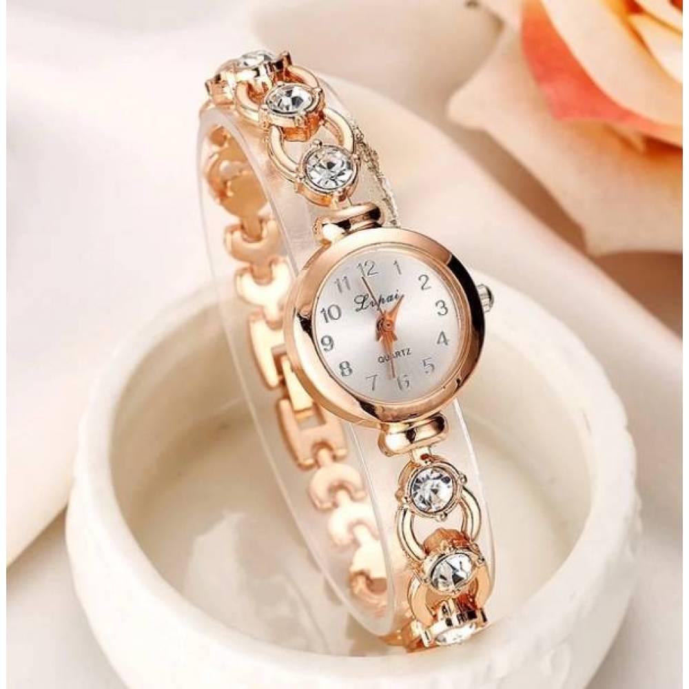 Женские Часы наручные LVPAI, золотистые  3255