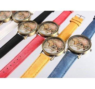 Женские Часы наручные JEANE CARTER, вокруг света  3269