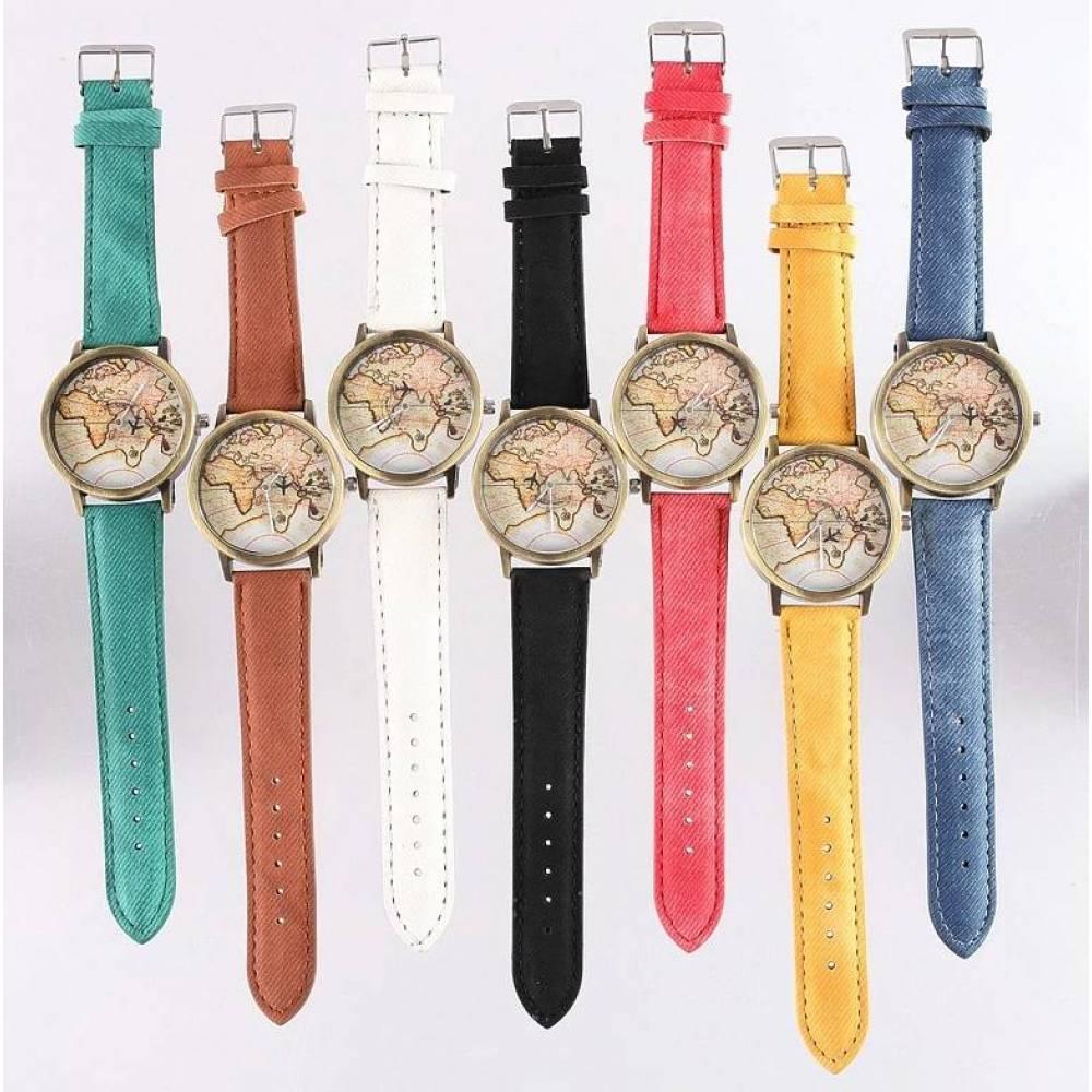 Женские Часы наручные JEANE CARTER, вокруг света  3270