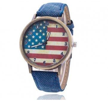 Женские Часы наручные Vansvar, американский флаг  3275
