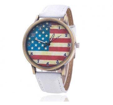 Женские Часы наручные Vansvar, американский флаг  3276