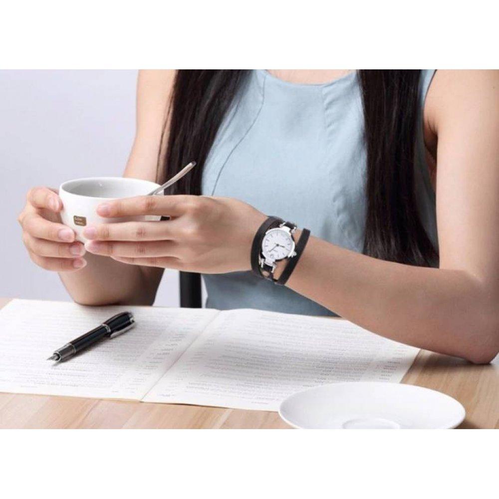 Женские Часы наручные CCQ, розовые  3278