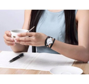 Женские Часы наручные CCQ, белые 3281