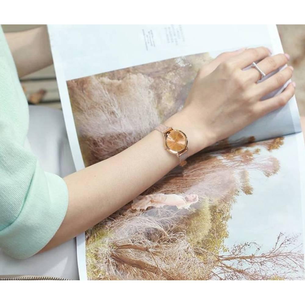 Женские Часы наручные Vansvar, золотистые  3286
