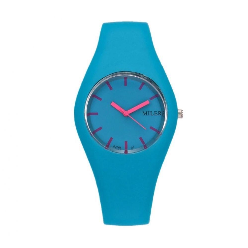 Женские Часы наручные MILER, голубые   3292