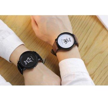 Мужские Часы наручные JW King, черные  3627
