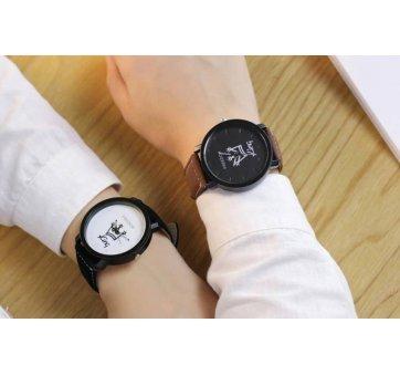 Мужские Часы наручные JW King, черные  3628