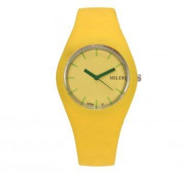 Женские Часы наручные MILER, желтые 3437