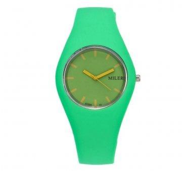 Женские Часы наручные MILER, зеленые   3439