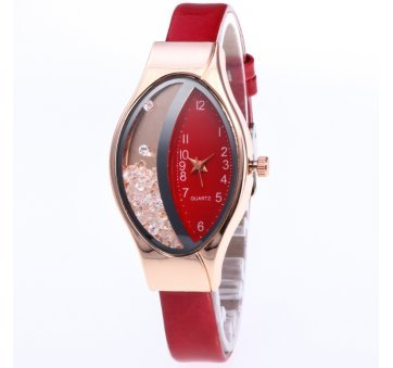 Женские Часы наручные JEANE CARTER, красные  3441