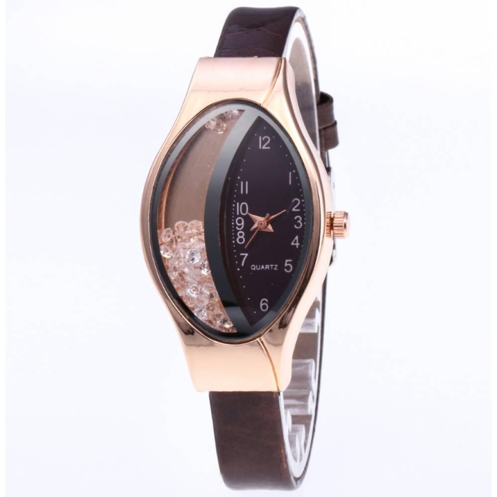 Женские Часы наручные JEANE CARTER, коричневые 3442