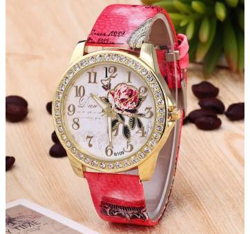 Женские Часы наручные RINNADY, красные  3446