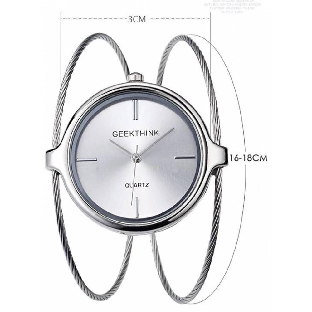 Женские Часы наручные Geekthink, Золотистые  3503
