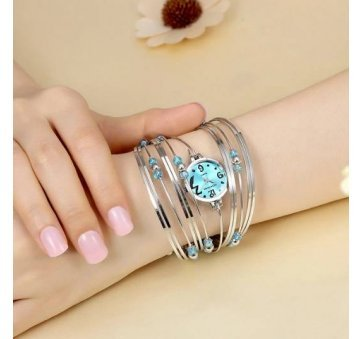 Женские Часы наручные Geekthink, голубые  3505