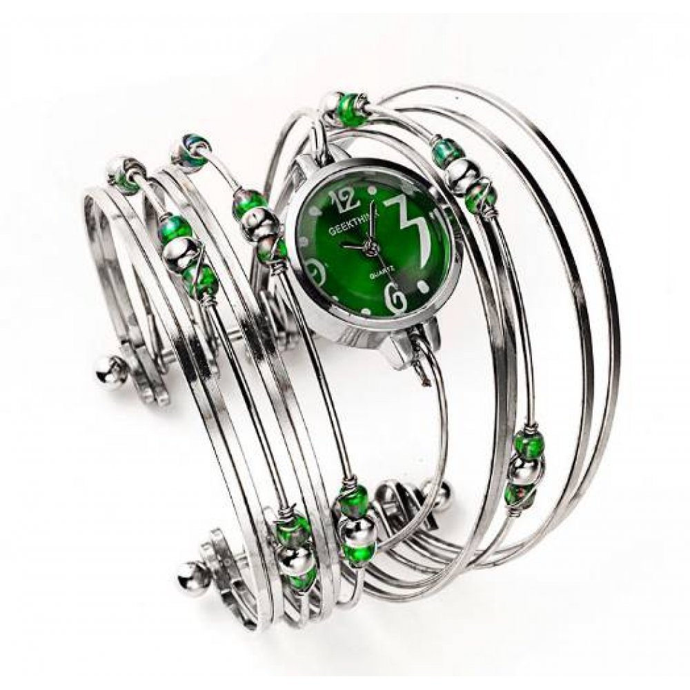 Женские Часы наручные Geekthink, Зеленые 3506