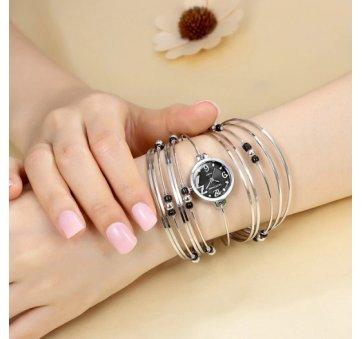 Женские Часы наручные Geekthink, черные 3507
