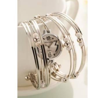 Женские Часы наручные Geekthink, белые 3508