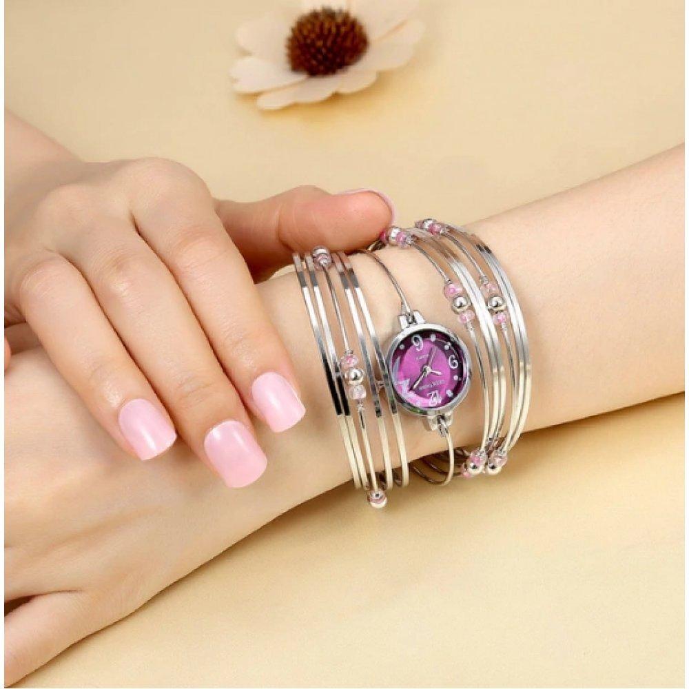 Женские Часы наручные Geekthink, фиолетовые 3509