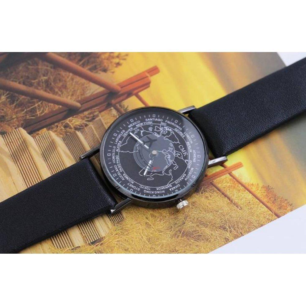 Женские Часы наручные JEANE CARTER, черные  3520