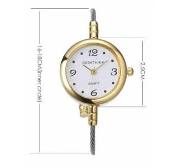 Женские Часы наручные Geekthink, золотистые  3566