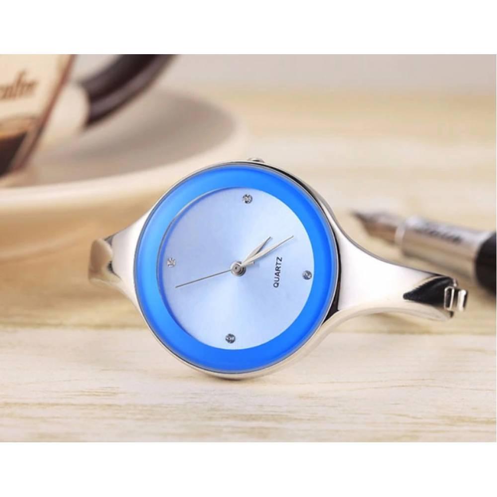 Женские Часы наручные Geekthink, голубые 3569