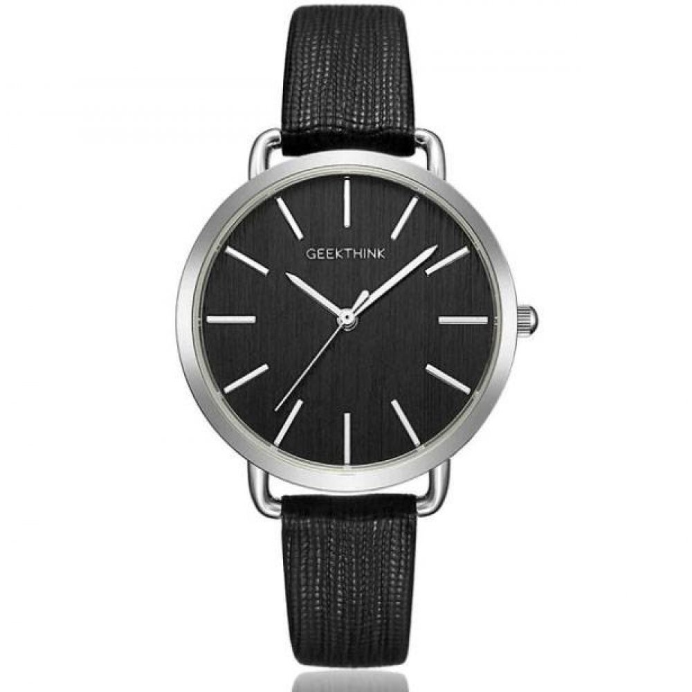 Женские Часы наручные Geekthink, черные 3573