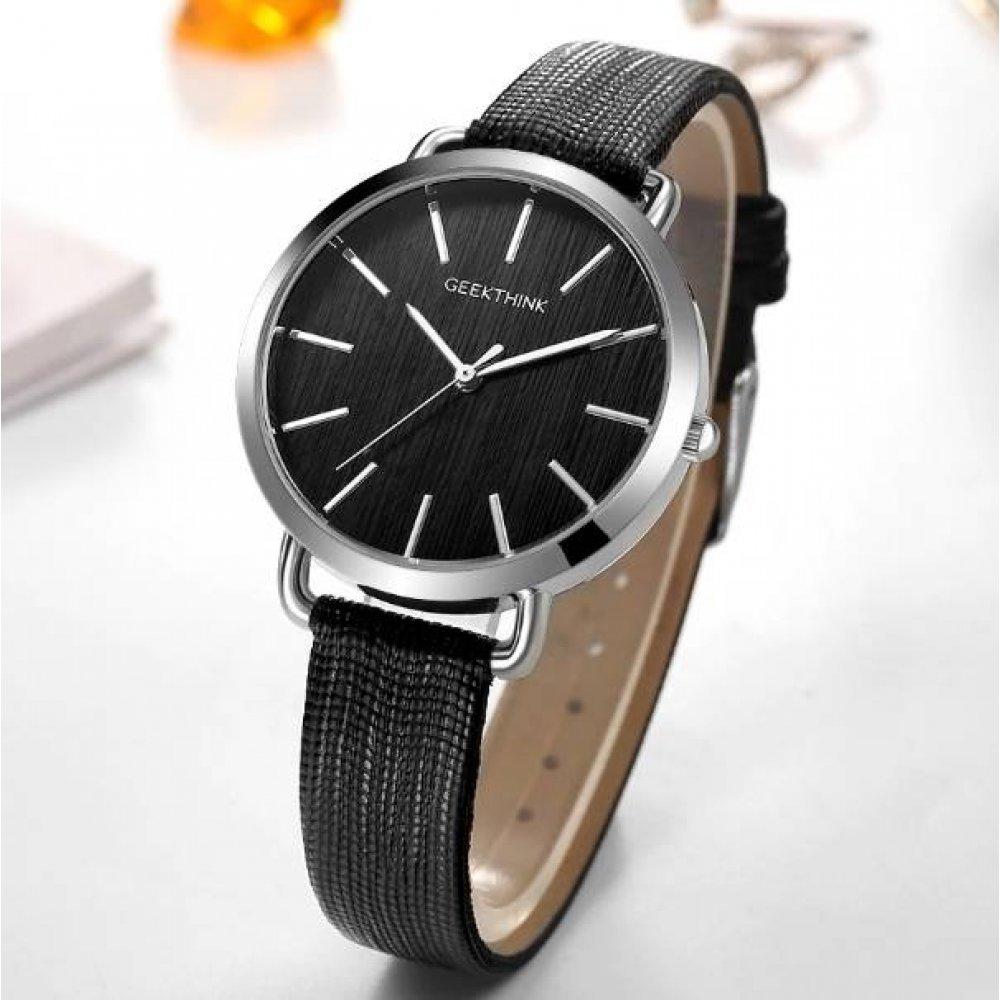 Женские Женские часы Geekthink, черные 3573
