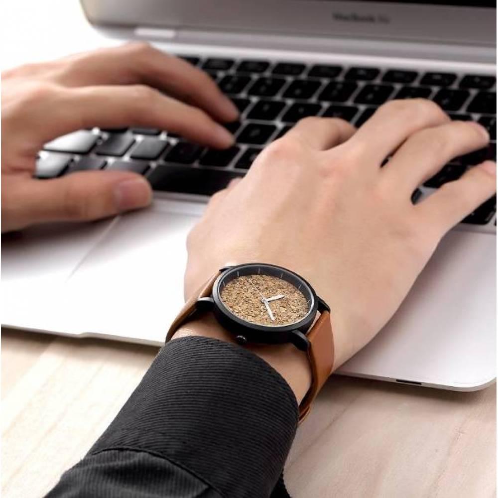 Женские Часы наручные Geekthink, коричневые   3576