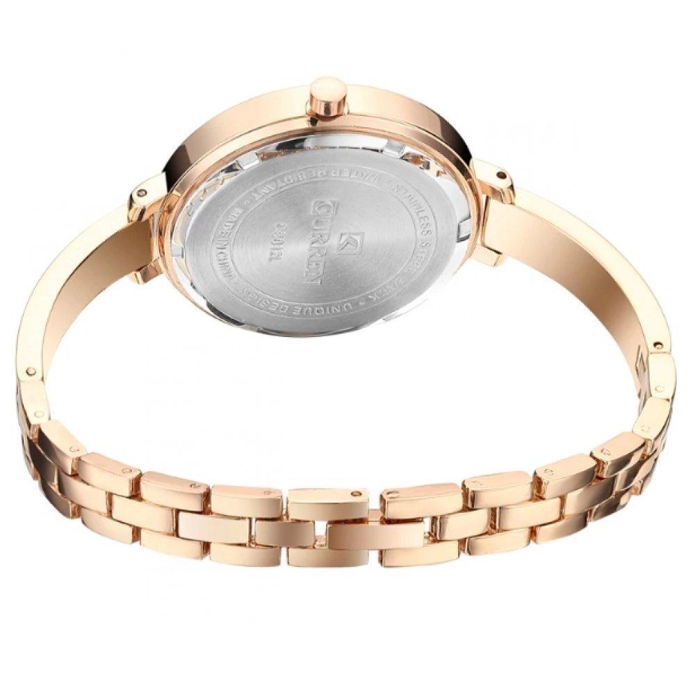 Женские Часы наручные CURREN, золотистые  3578